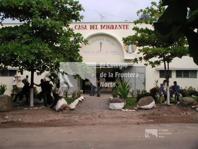 Casa del migrante de tapachula chiapas for Mural de la casa del migrante