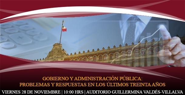 Gobierno y Administración Pública: problemas y respuestas en los últimos treinta años