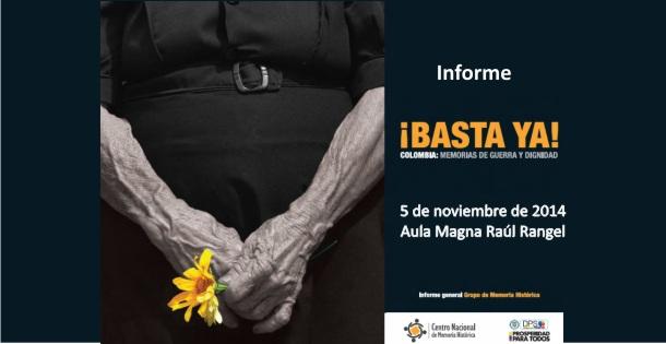 Basta ya… Colombia