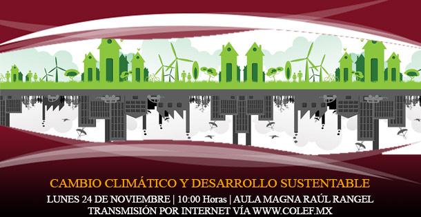 Cambio climático y desarrollo sustentable
