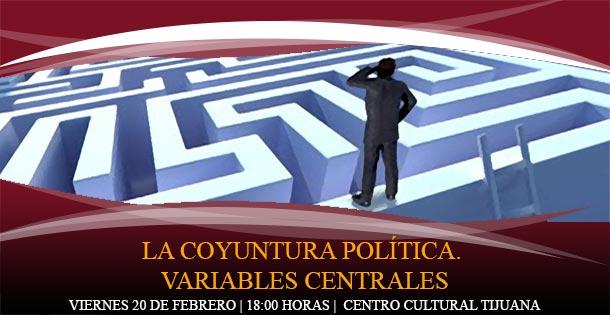 La coyuntura política