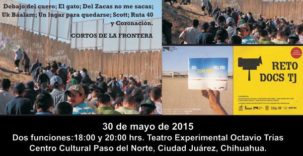 Proyección de documentales, Reto Docs y Otro lado del río