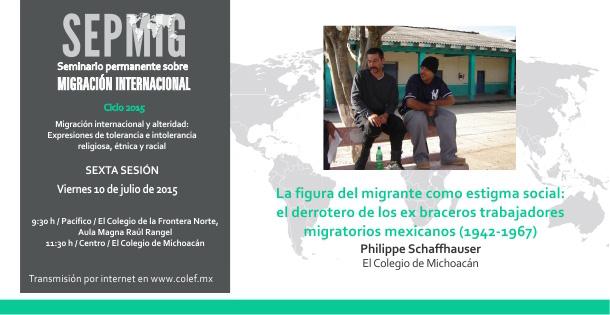 La figura del migrante como estigma social