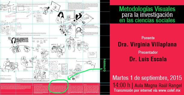 01-09-2015 Metodologías Visuales para la investigación en las ciencias sociales