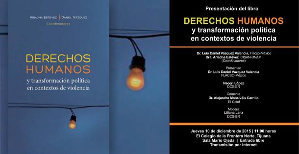 (Spanish) Derechos Humanos y transformación política en contextos de violencia