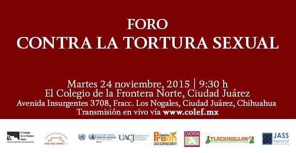 (Spanish) Foro Contra la Tortura Sexual