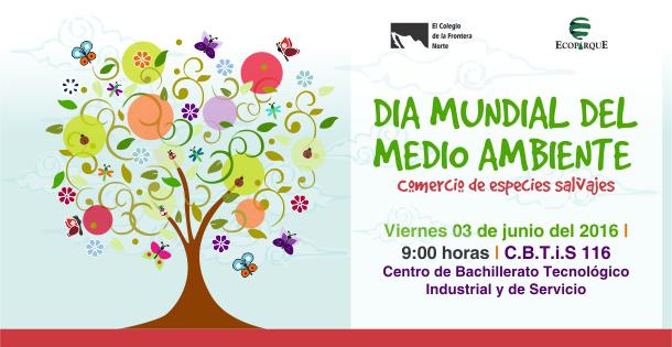 """Talleres y actividades ecodidácticas  """"Ecoparque viene a ti"""" celebra el Día del Medio Ambiente en el CBTIS-116"""