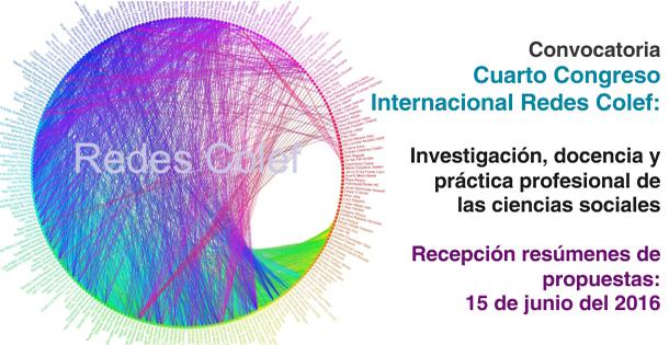 """11 Cuarto Congreso Internacional REDESColef """"Investigación, Docencia y Práctica Profesional de las Ciencias Sociales"""""""