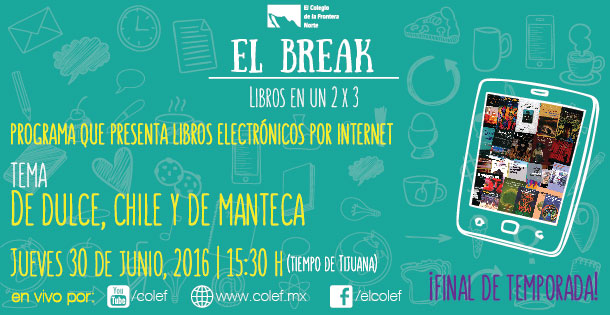 El break. Libros en un 2 x 3 (episodio 12)