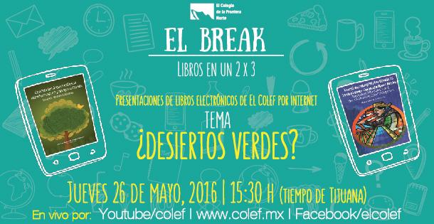 El break. Libros en un 2 x3