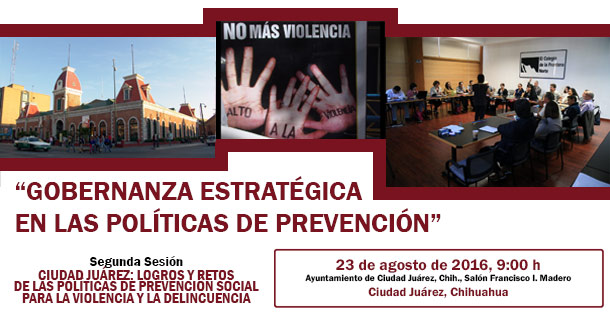 Gobernanza estratégica en las políticas de prevención (2do ciclo, 2da sesión)