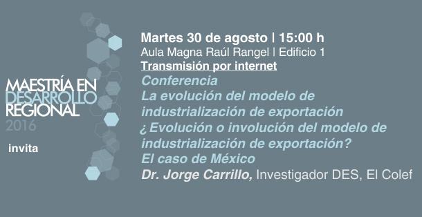 ¿Evolución o involución del modelo de industrialización de exportación? El caso México