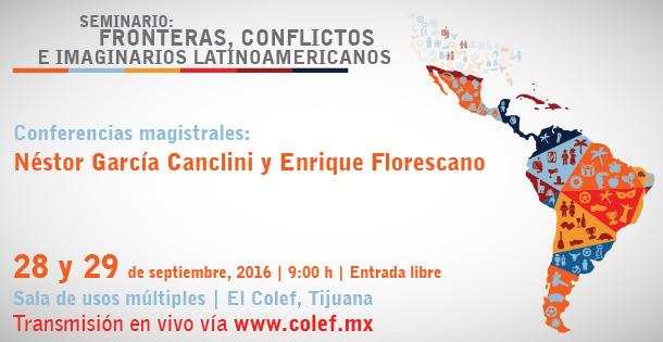 Banner Fronteras, conflictos e imaginarios latinoamericanos