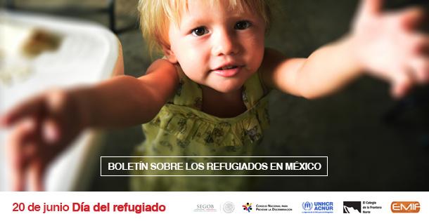Banner BOLETÍN SOBRE LOS REFUGIADOS EN MÉXICO