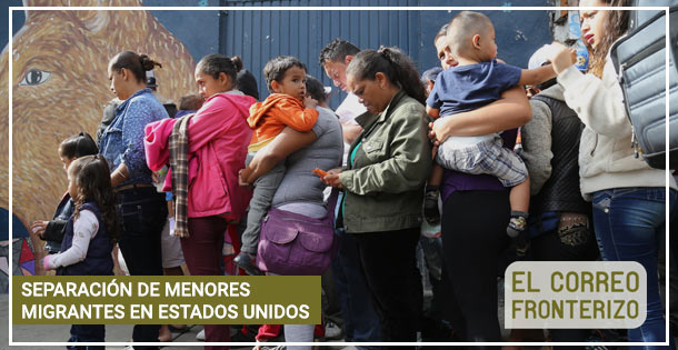 Banner SEPARACIÓN DE MENORES MIGRANTES EN ESTADOS UNIDOS