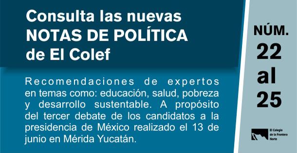 Banner Notas de política