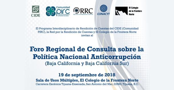 Banner Foro Política anticorrupción