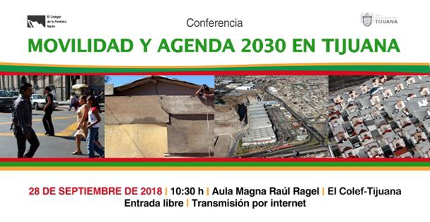 Banner Movilidad y Agenda 2030 en Tijuana