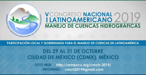 Banner IER CONGRESO LATINOAMERICANO Y V CONGRESO NACIONAL DE MANEJO DE CUENCAS HIDROGRÁFICAS (CMCH-2019)