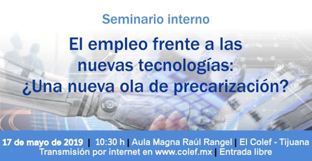 Banner El empleo frente a las nuevas tecnologías