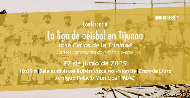 Banner La liga de béisbol en Tijuana