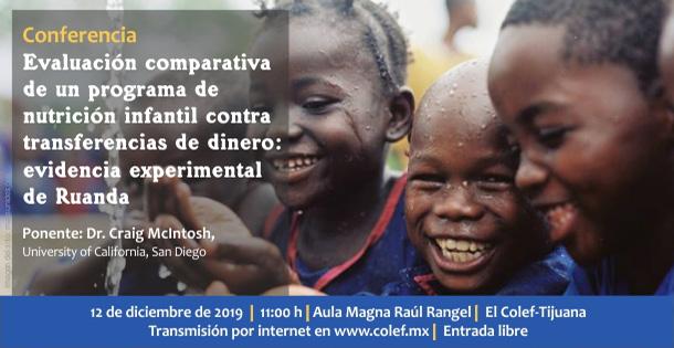 Banner Conferencia: Evaluación comparativa de un programa de nutrición infantil