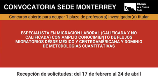 Banner Vacante Monterrey