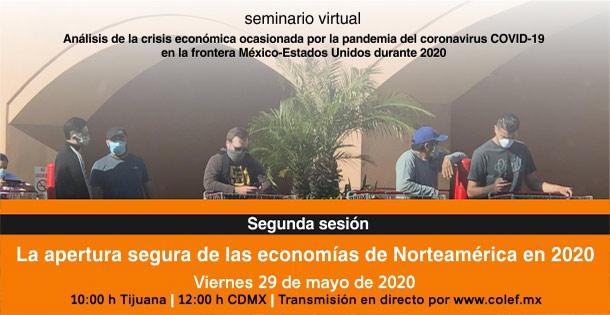 Banner La apertura segura de las economías de Norteamérica en 2020.