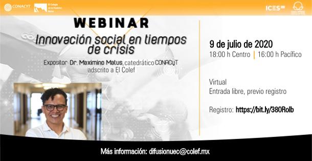 Banner Webinar innovación social