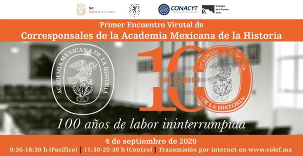 Banner Encuentro corresponsales de historia