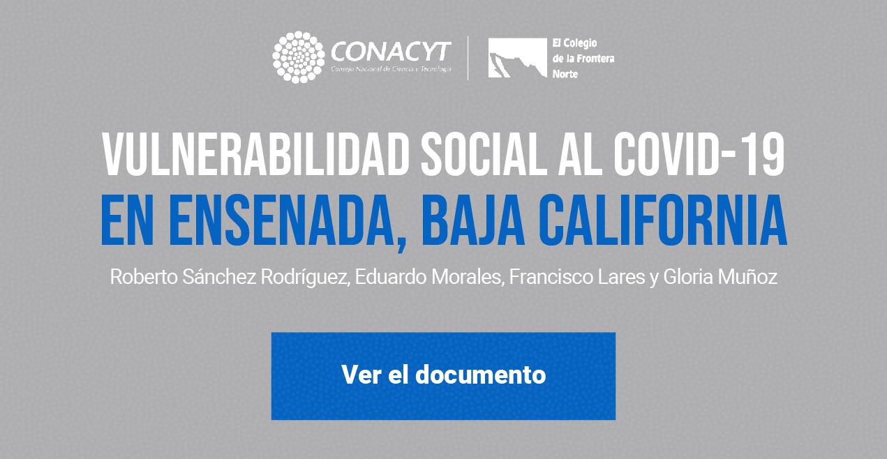 Banner Policy Brief: Vulnerabilidad Social al COVID-19 en Ensenada,