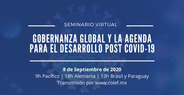 Banner evento Gobernanza y covid