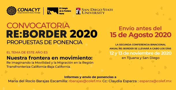 Banner Convocatoria ReBorder 2020